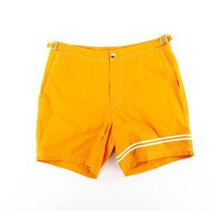 "Nautica Quick Dry Stripe 17"" Swim Trunk Retro 70's"
